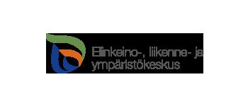 Elinkeino-,liikenne ja ympäristökeskuksen logo.